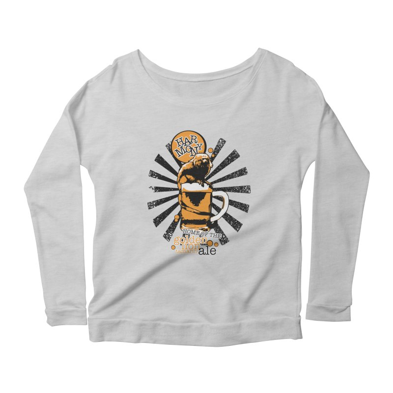 Golden Lion Tamarin Women's Longsleeve T-Shirt by Harmony Brewing Company