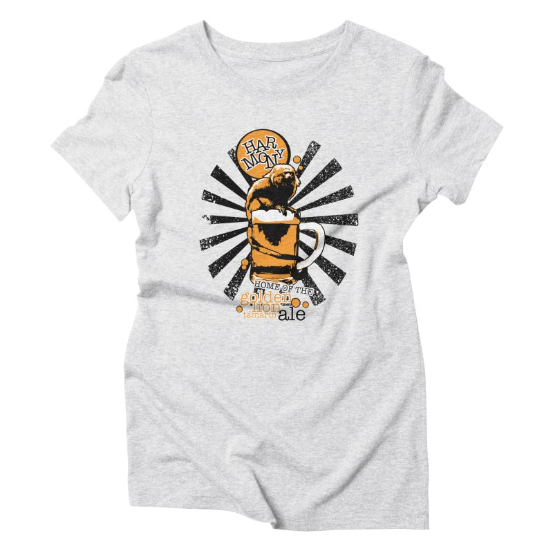 Golden Lion Tamarin Women's T-Shirt by Harmony Brewing Company