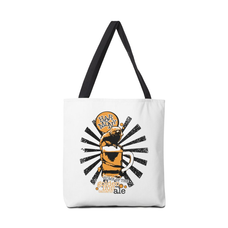 Golden Lion Tamarin Accessories Tote Bag Bag by Harmony Brewing Company