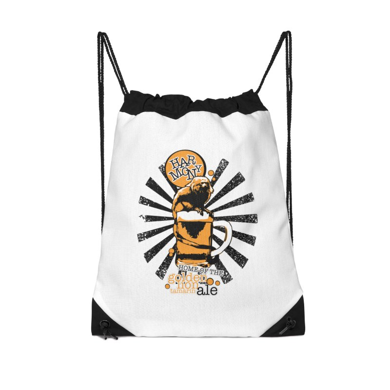 Golden Lion Tamarin Accessories Bag by Harmony Brewing Company
