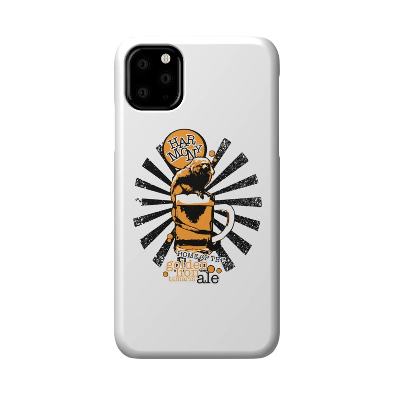 Golden Lion Tamarin Accessories Phone Case by Harmony Brewing Company