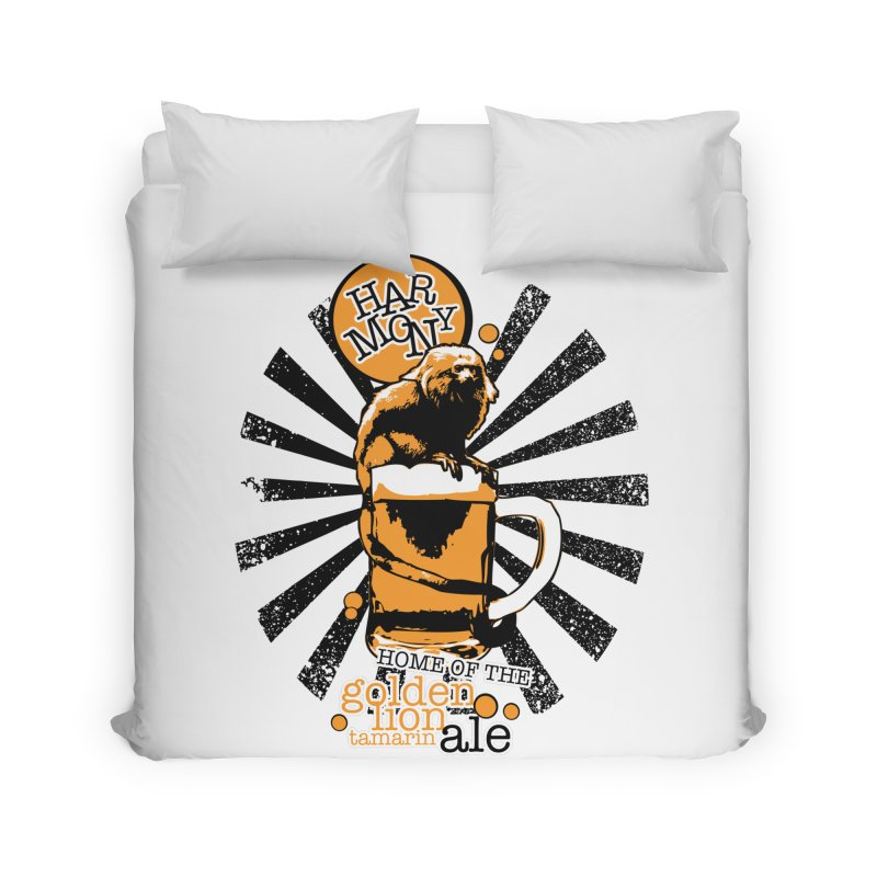 Golden Lion Tamarin Home Duvet by Harmony Brewing Company
