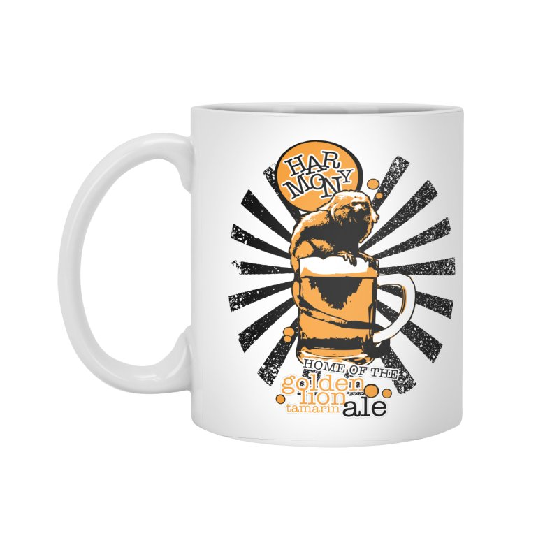 Golden Lion Tamarin Accessories Standard Mug by Harmony Brewing Company