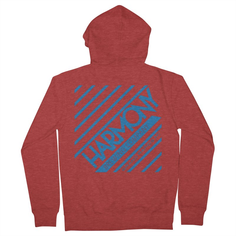 Our Harmony Men's French Terry Zip-Up Hoody by Harmony Brewing Company
