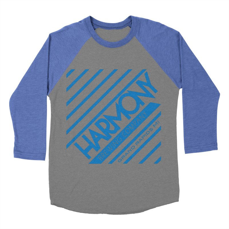 Our Harmony Men's Baseball Triblend Longsleeve T-Shirt by Harmony Brewing Company