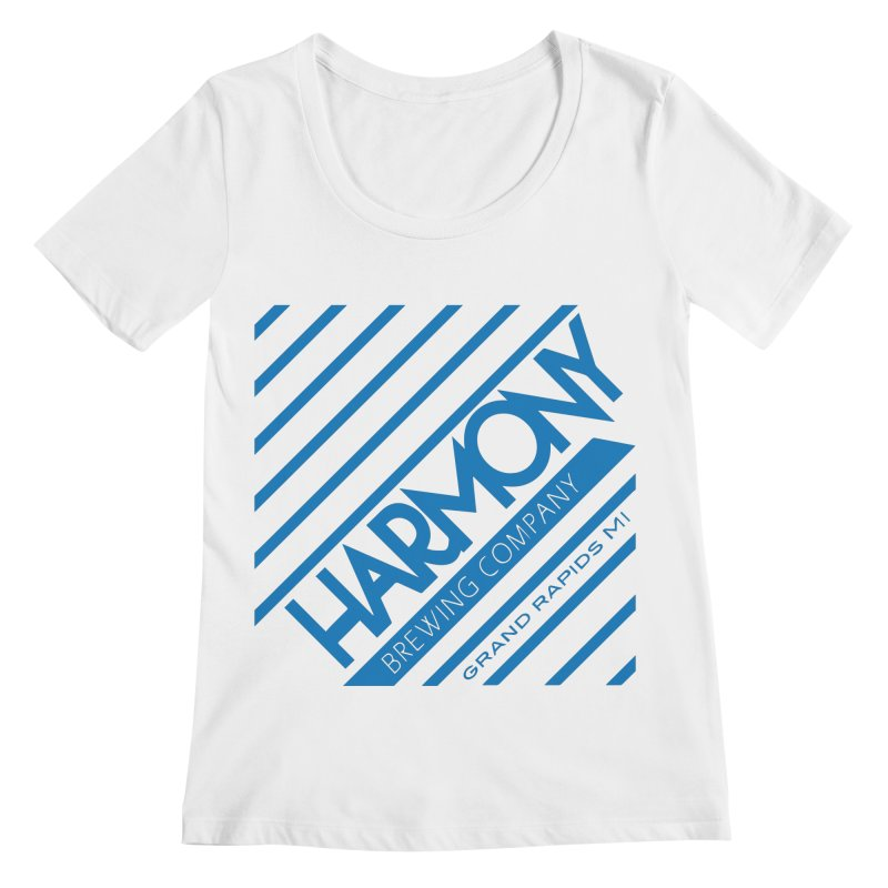 Our Harmony Women's Regular Scoop Neck by Harmony Brewing Company