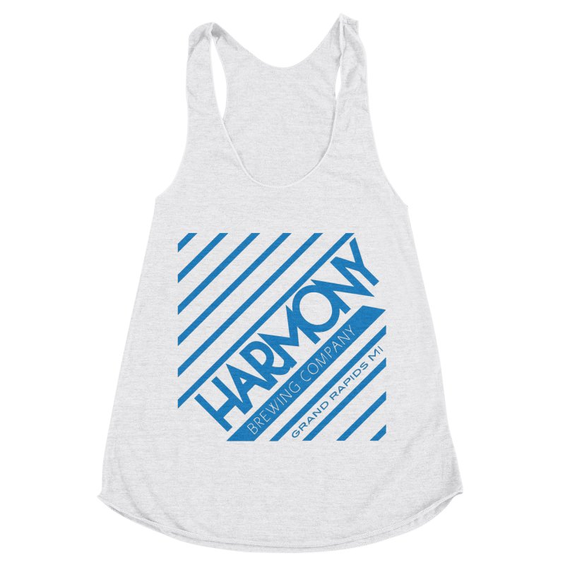 Our Harmony Women's Racerback Triblend Tank by Harmony Brewing Company