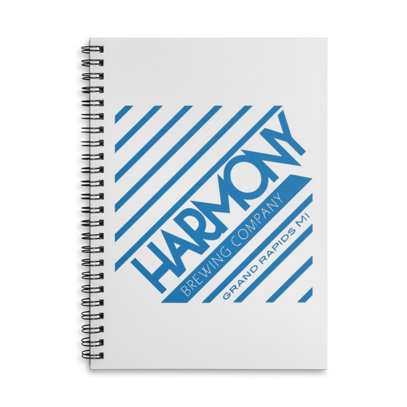 Our Harmony Accessories Lined Spiral Notebook by Harmony Brewing Company