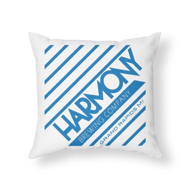 Our Harmony Home Throw Pillow by Harmony Brewing Company