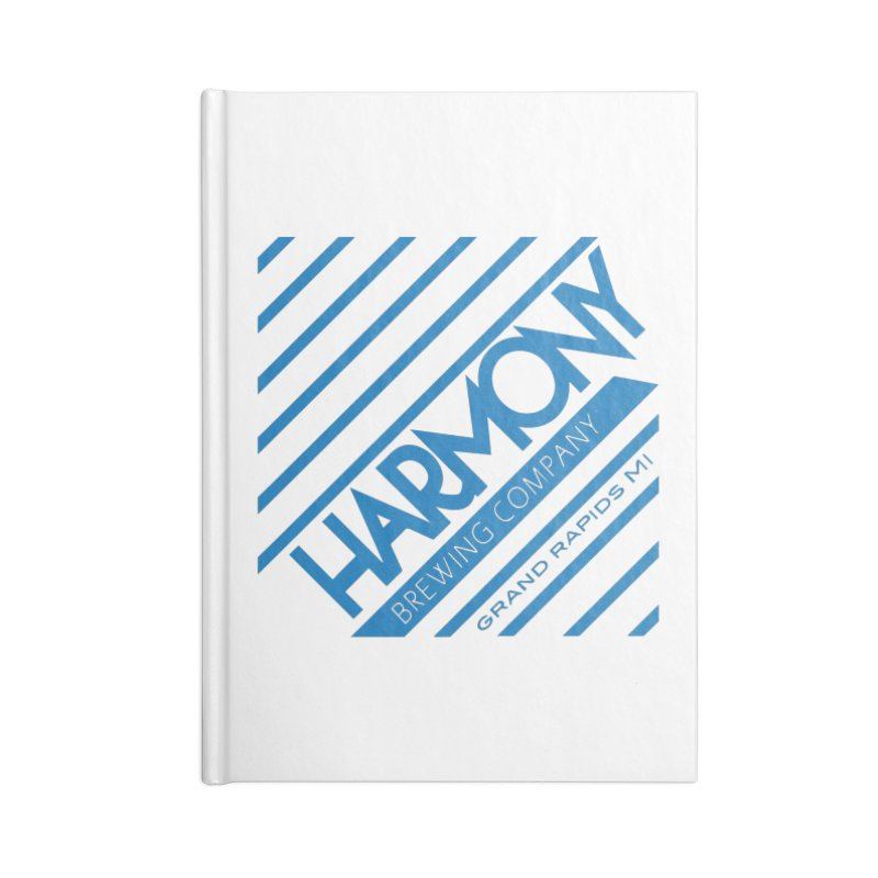 Our Harmony Accessories Lined Journal Notebook by Harmony Brewing Company