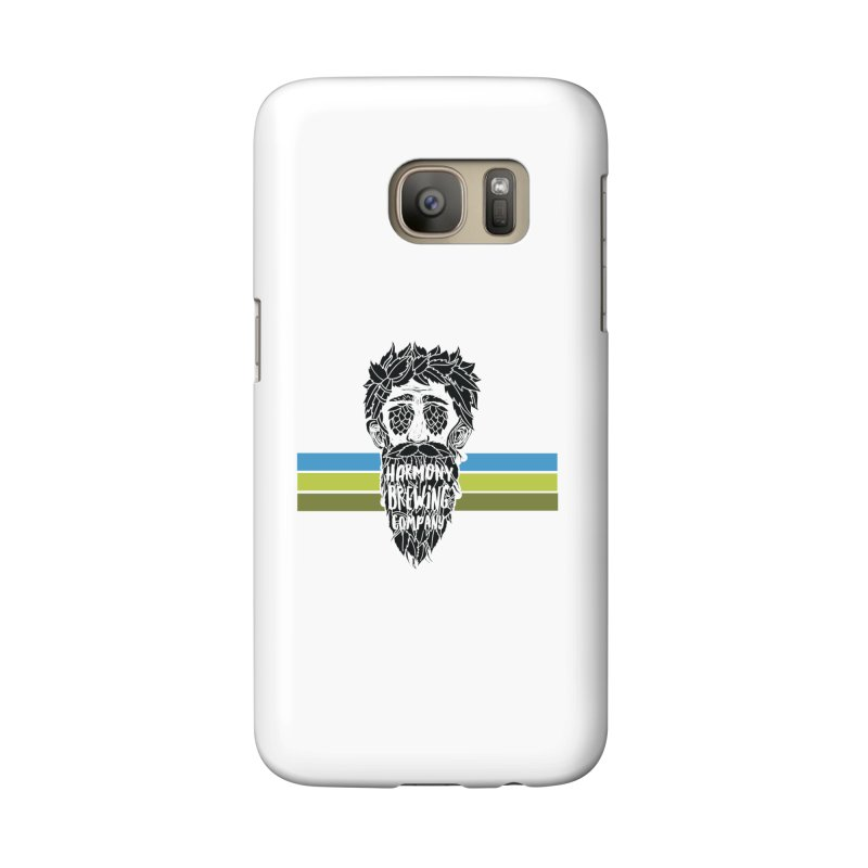 Stripey Hop Eyed Guy Accessories Phone Case by Harmony Brewing Company