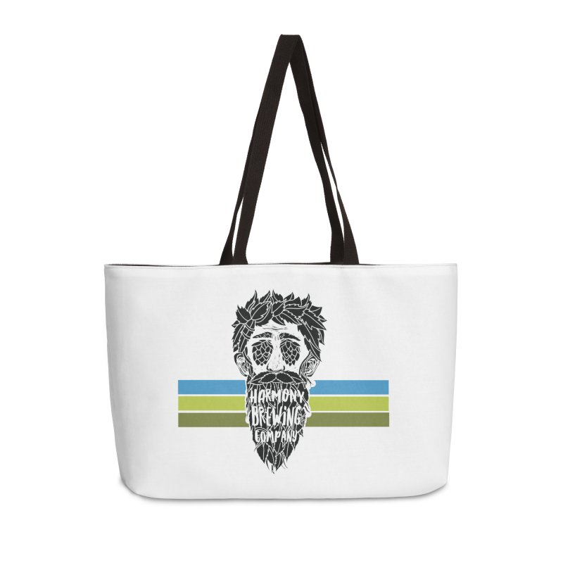 Stripey Hop Eyed Guy Accessories Bag by Harmony Brewing Company