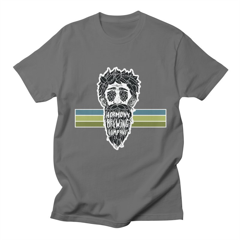 Stripey Hop Eyed Guy Women's Regular Unisex T-Shirt by Harmony Brewing Company