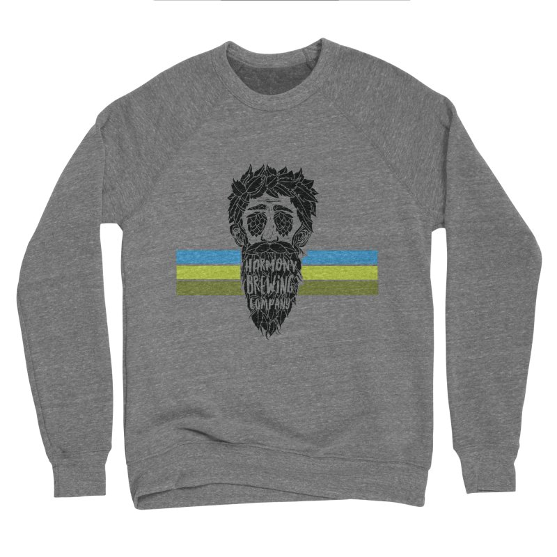 Stripey Hop Eyed Guy Women's Sweatshirt by Harmony Brewing Company