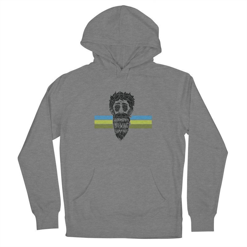 Stripey Hop Eyed Guy Men's Pullover Hoody by Harmony Brewing Company