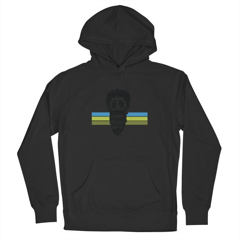 Stripey Hop Eyed Guy Women's Pullover Hoody by Harmony Brewing Company