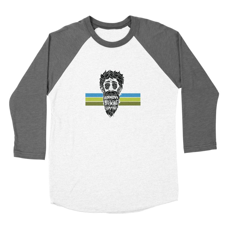 Stripey Hop Eyed Guy Men's Longsleeve T-Shirt by Harmony Brewing Company