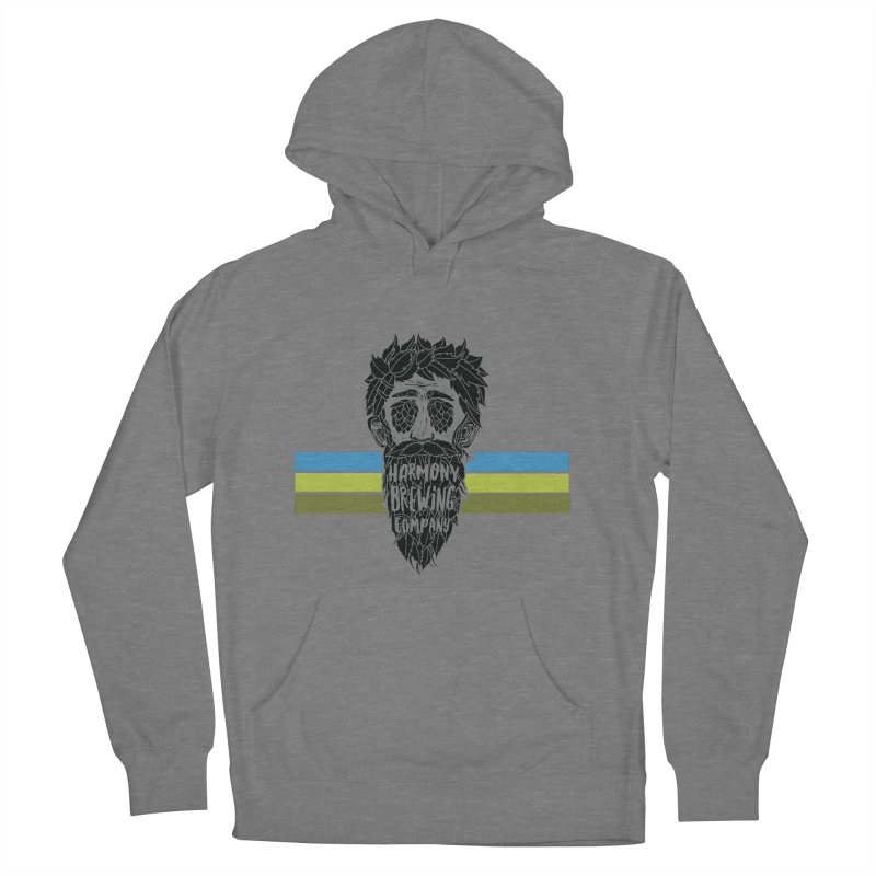 Stripey Hop Eyed Guy Women's French Terry Pullover Hoody by Harmony Brewing Company