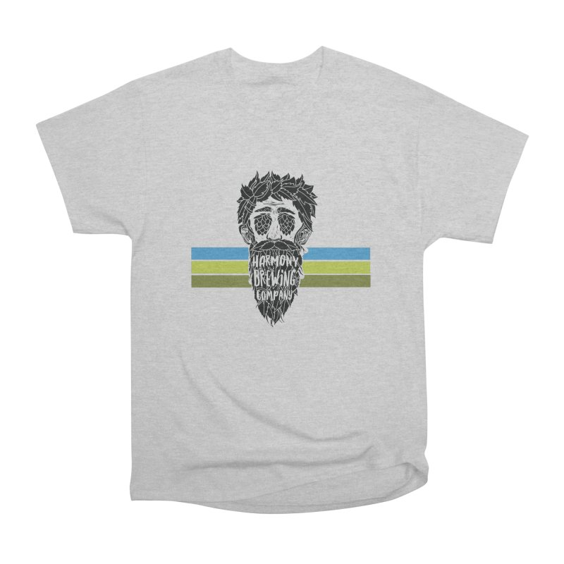 Stripey Hop Eyed Guy Men's T-Shirt by Harmony Brewing Company