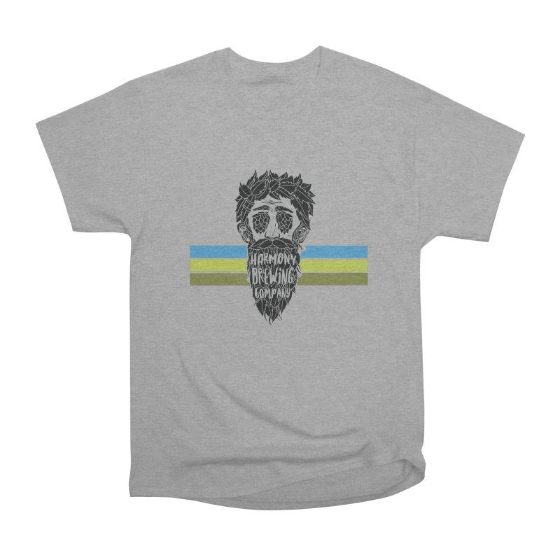 Stripey Hop Eyed Guy Men's Heavyweight T-Shirt by Harmony Brewing Company