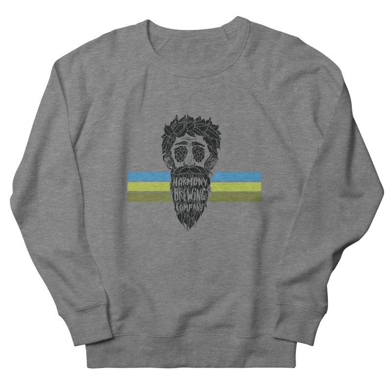 Stripey Hop Eyed Guy Women's Sweatshirt by Harmony Brewing Company