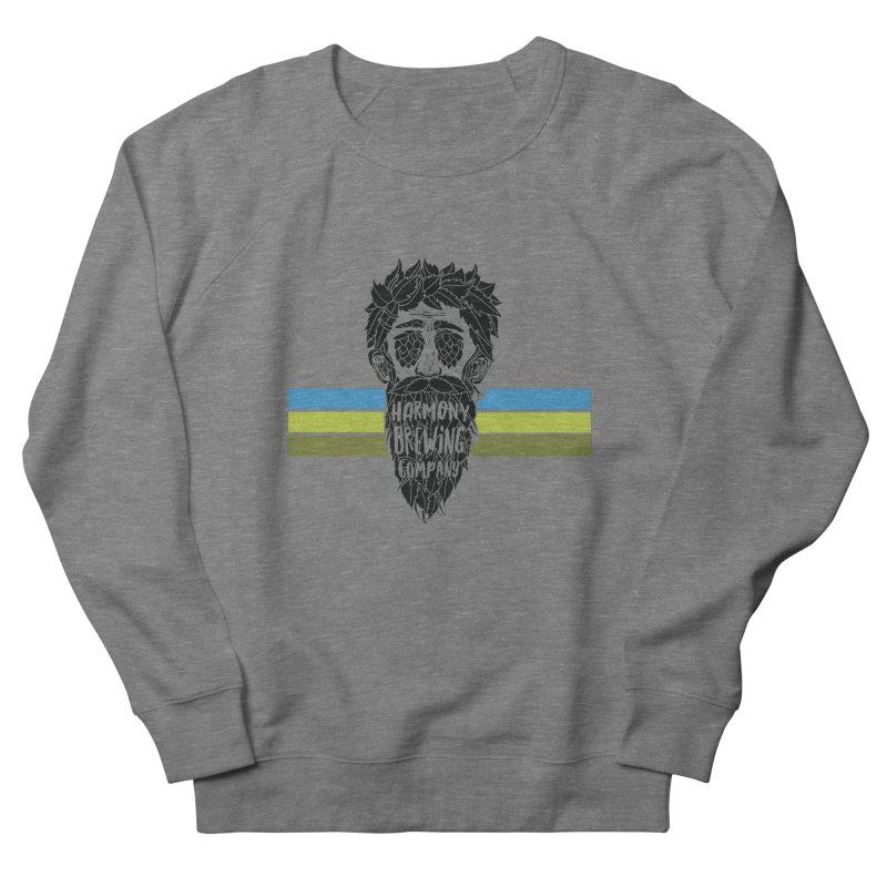 Stripey Hop Eyed Guy Men's Sweatshirt by Harmony Brewing Company
