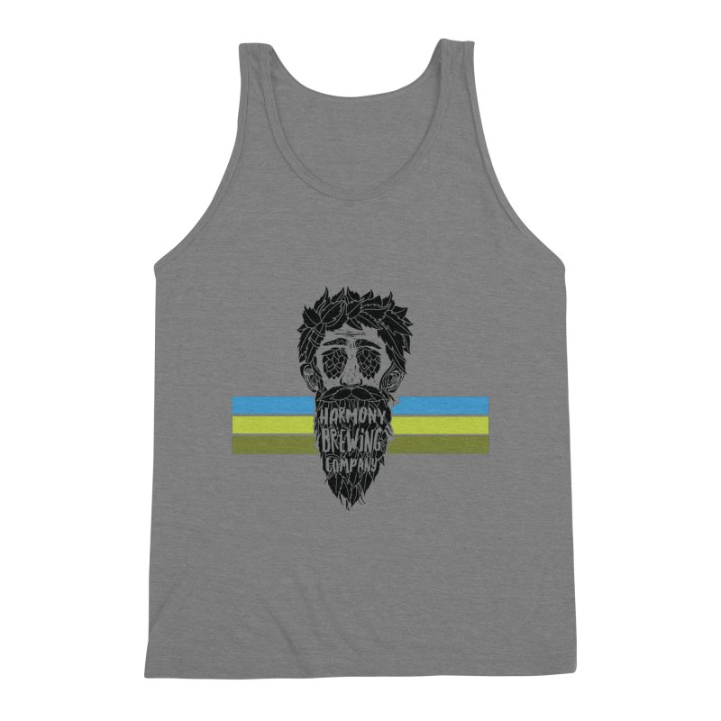Stripey Hop Eyed Guy Men's Tank by Harmony Brewing Company
