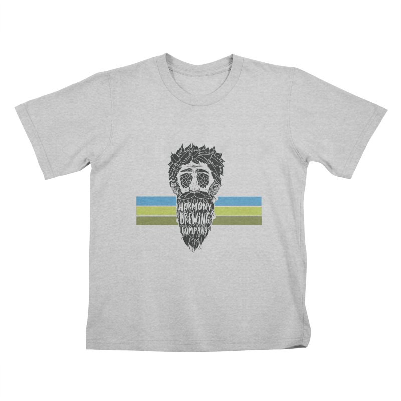 Stripey Hop Eyed Guy Kids T-Shirt by Harmony Brewing Company