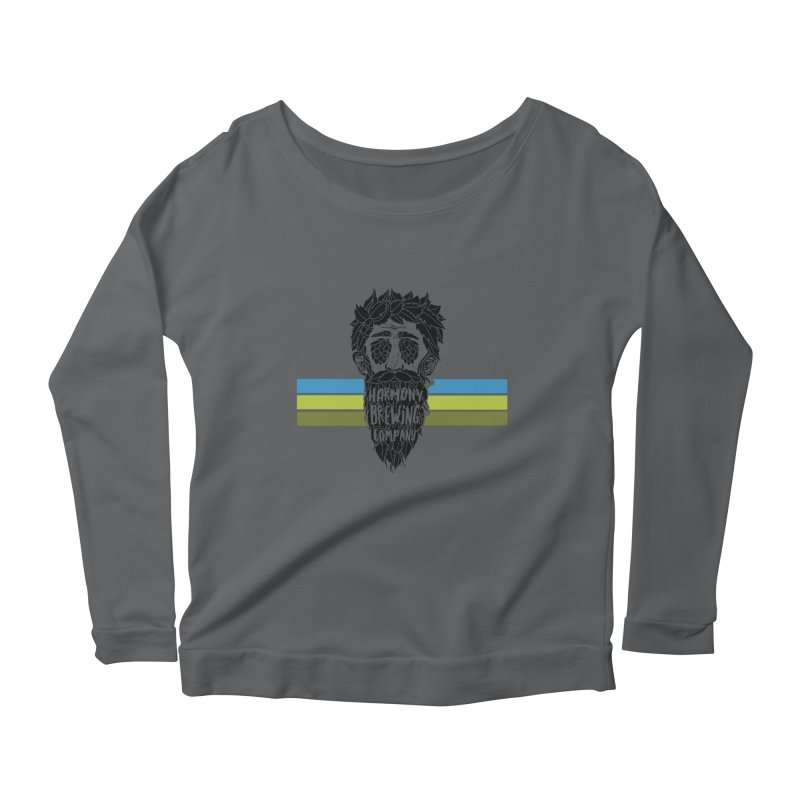 Stripey Hop Eyed Guy Women's Longsleeve T-Shirt by Harmony Brewing Company