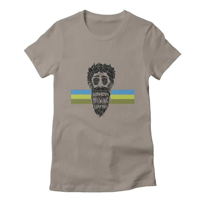 Stripey Hop Eyed Guy Women's T-Shirt by Harmony Brewing Company