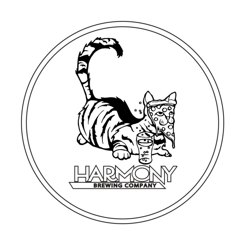 Pizza cat Accessories Sticker by Harmony Brewing Company