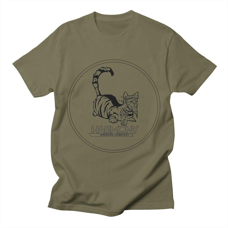 Pizza cat Men's T-Shirt by Harmony Brewing Company