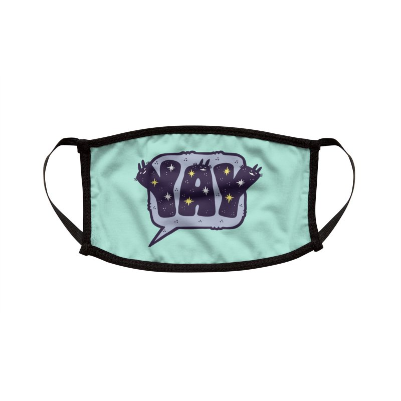 YAY Accessories Face Mask by Haypeep's Artist Shop