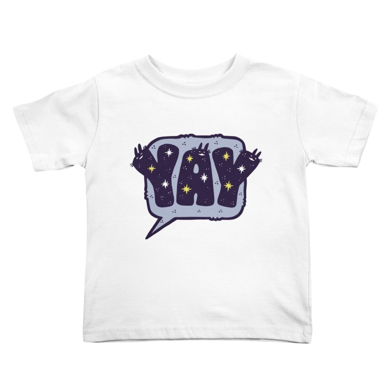 YAY Kids Toddler T-Shirt by Haypeep's Artist Shop