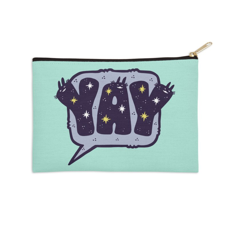 YAY Accessories Zip Pouch by Haypeep's Artist Shop