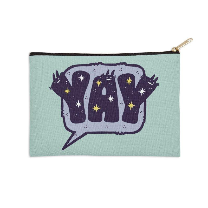 YAY Accessories Zip Pouch by Haypeep's Artist Shop