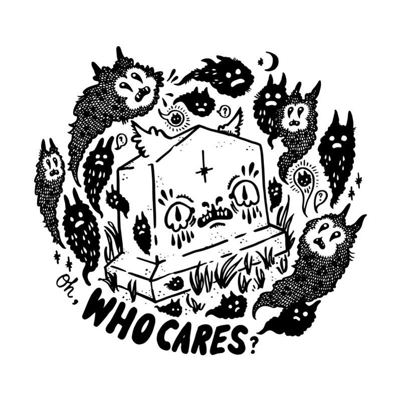 Oh, who cares? Men's Zip-Up Hoody by Haypeep's Artist Shop