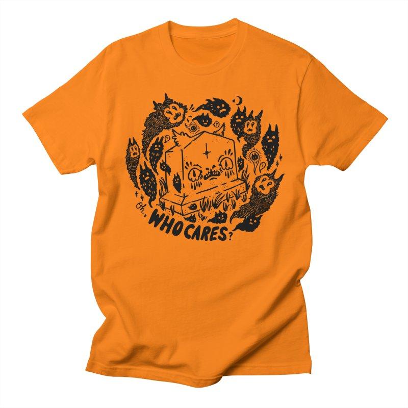 Oh, who cares? Men's Regular T-Shirt by Haypeep's Artist Shop