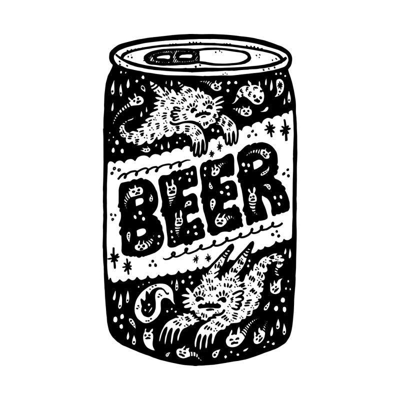 Beer can Women's Longsleeve T-Shirt by Haypeep's Artist Shop
