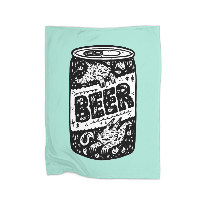 Beer can (white inside) Home Blanket by Haypeep's Artist Shop