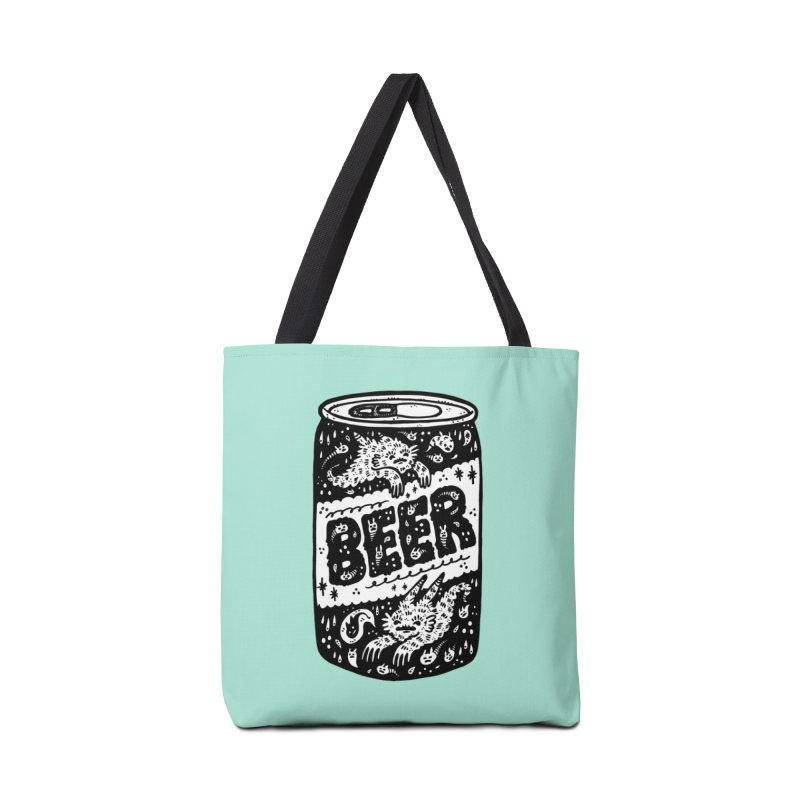 Beer can (white inside) Accessories Bag by Haypeep's Artist Shop