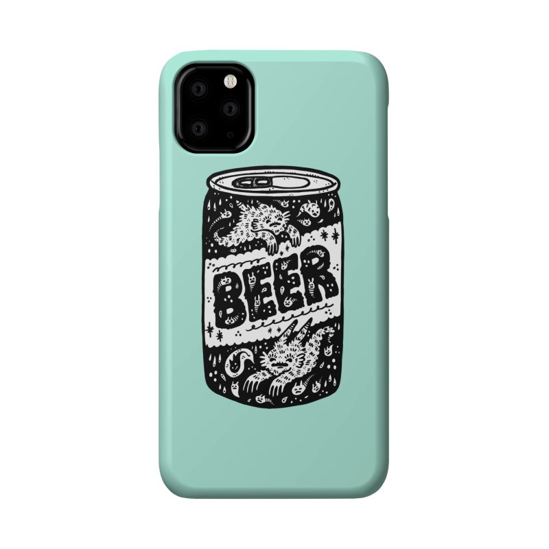 Beer can (white inside) Accessories Phone Case by Haypeep's Artist Shop