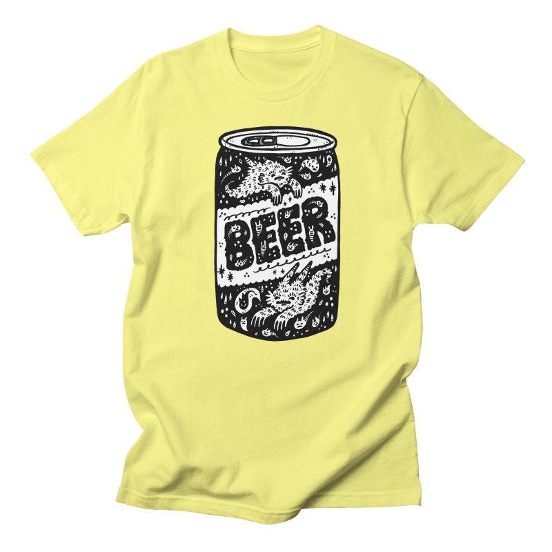 Beer can (white inside) Men's T-Shirt by Haypeep's Artist Shop