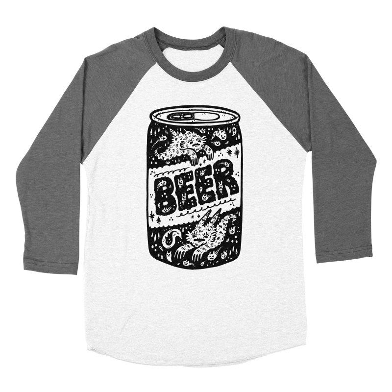 Beer can (white inside) Women's Longsleeve T-Shirt by Haypeep's Artist Shop