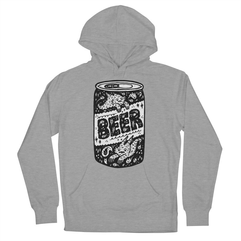 Beer can (white inside) Women's Pullover Hoody by Haypeep's Artist Shop