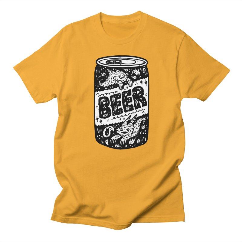 Beer can (white inside) Women's T-Shirt by Haypeep's Artist Shop