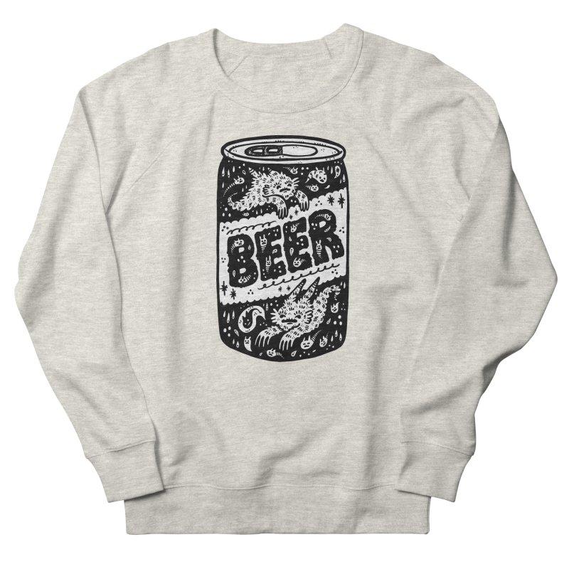 Beer can (white inside) Women's Sweatshirt by Haypeep's Artist Shop