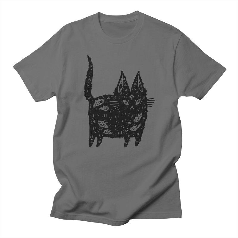 Fatty cat Men's Regular T-Shirt by Haypeep's Artist Shop