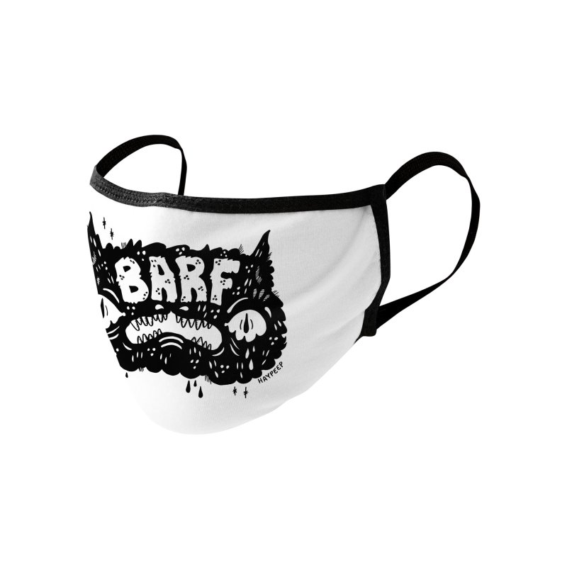 BARF Accessories Face Mask by Haypeep's Artist Shop
