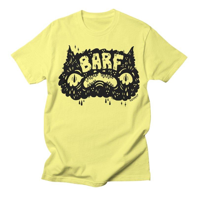 BARF Men's Regular T-Shirt by Haypeep's Artist Shop